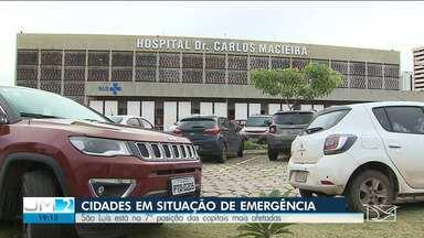 São Luís tem casos de Covid-19 acima da média nacional - A capital está entre as doze cidades do país com mais casos da doença.
