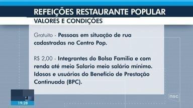 Restaurantes populares de Joinville devem reabrir para atender moradores de baixa renda - Restaurantes populares de Joinville devem reabrir para atender moradores de baixa renda