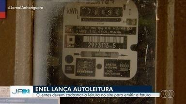 Enel lança sistema de autoleitura em Goiás - Clientes devem se cadastrar no site para emitir a fatura.