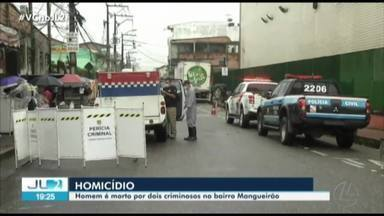 Homem é assassinado com a tiros no bairro Mangueirão, em Belém - Homem é assassinado com a tiros no bairro Mangueirão, em Belém