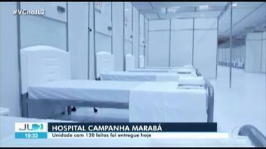 Governo do Pará entrega o hospital de campanha de Marabá - Governo do Pará entrega o hospital de campanha de Marabá