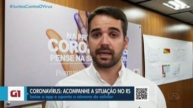 Governo do RS avalia se vai estender decreto de fechamento do comércio - Eduardo Leite aguarda resultado de pesquisa que deve indicar incidência do coronavírus no Estado.