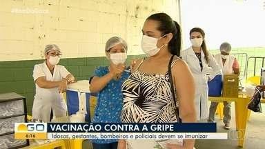 Goiânia antecipa segunda etapa de imunização contra a gripe - Medida foi tomada devido à grande procura pela vacina pelos primeiros grupos de risco, atingindo as metas da Saúde.