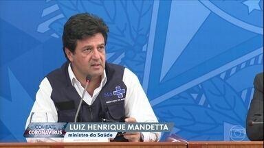 Mandetta diz que isolamento já está fazendo efeito positivo - Ministro da saúde pretende aumentar a testagem de suspeitos de terem o coronavírus.