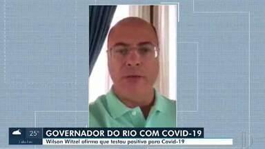 Governador do Rio testa positivo para Covid-19 - Wilson Witzel confirmou a informação na tarde desta terça-feira (14) e divulgou um vídeo pela internet.