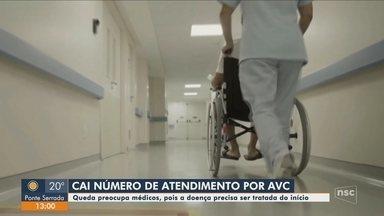 Baixa procura para tratar AVC preocupa médicos de SC; entenda - Baixa procura para tratar AVC preocupa médicos de SC; entenda
