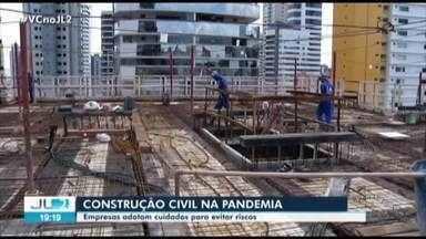 Construção civil sente o impacto das medidas restritivas para o combate à Covid-19 no Pará - Construção civil sente o impacto das medidas restritivas para o combate à Covid-19 no Pará