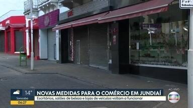Flexibilização das medidas de restrição em Jundiaí - Escritórios, salões de beleza e lojas de veículos voltam a funcionar