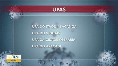 Unidade de Saúde são divididas para atender pacientes com novo coronavírus em São Luís - Unidades foram divididas para atender pacientes com sintomas leves de gripe e pessoas com dificuldade para respirar.