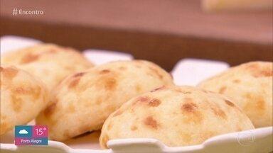 Reveja receitas de Ana Maria - Aprenda a fazer um pão de queijo delicioso para alegrar seu isolamento social