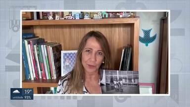 60 anos de Brasília - A Patrícia Colela gravou um vídeo para contar um pouco da sua história com a capital que está fazendo aniversário nesta terça (21).