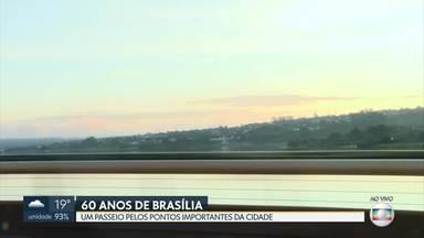 Aniversário de Brasília: passeio pela Ponte JK - A repórter Maria Fernanda fez um tour pelos pontos mais importantes da capital.