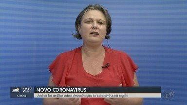 Médica analisa medidas contra coronavírus em cidades do Sul de MG - Lívia Teixeira Vitale comenta situação na região