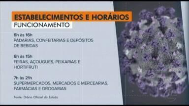 Decreto define horário de funcionamento de estabelecimentos no Pará - Medida busca distribuir o fluxo de serviços para evitar aglomerações em meio à pandemia