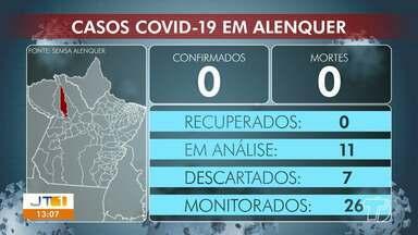 Acompanhe o número de casos confirmados de coronavírus em municípios do oeste paraense - Veja como estão os números em Alenquer, Oriximiná e Juruti.