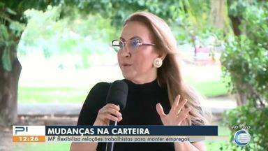 MP flexibiliza relações trabalhistas para manter empregos no Piauí - MP flexibiliza relações trabalhistas para manter empregos no Piauí