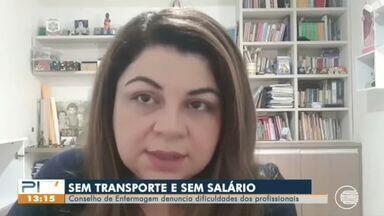 Enfermeira reclama de falta de transporte público para trabalhar em Teresina - Enfermeira reclama de falta de transporte público para trabalhar em Teresina