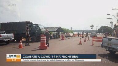 Exército montou barreira na fronteira para combater Covid-19 - Exército montou barreira na fronteira para combater Covid-19