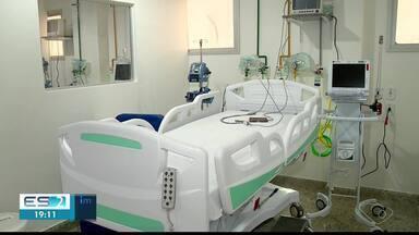 Hospital de Colatina, ES, faz adaptações com novos leitos de UTI para pediatria - Hospitais estão se preparando.