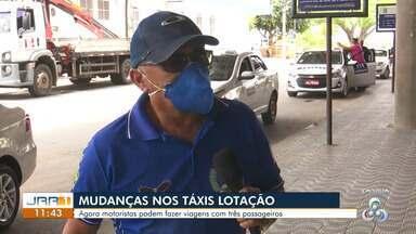 Prefeitura de Boa Vista autoriza táxis-lotação fazer viagens com três passageiros - A Prefeitura segue flexibilizando o funcionamento de diversos setores durante a pandemia.