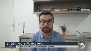Uso de máscaras passa a ser obrigatório em Araraquara - Além disso, Daae terá que lavar terminal de integração e a rodoviária todos os dias.