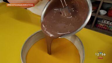 Receita da quarentena: aprenda a fazer bolo de cenoura - Receita é da chef de cozinha Fernanda Ferreira