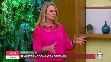 Pesquisa revela que só 36% dos brasileiros com mais de 18 anos seguem dicas de prevenção - A infectologista Rosana Richtamann reforça que o mais importante é a higiene das mãos, já que a principal forma de contágio é o contato das mãos com as mucosas.
