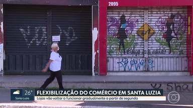 Lojas em Santa Luzia vão voltar a funcionar gradualmente a partir de segunda-feira - Comércios deverão seguir regras.