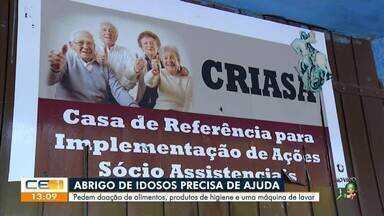 Abrigo de idosos precisa de ajuda: veja como doar - Saiba mais em: g1.com.br/ce