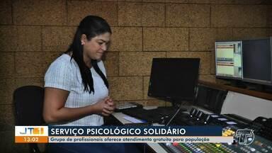 Grupo de psicólogos voluntários oferece serviços gratuitos em Santarém durante pandemia - Serviços de escutas são feitos pela internet.
