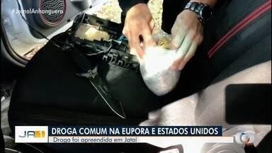 """Polícia apreende em Jataí droga comum na Europa e nos Estados Unidos - Substância é conhecida como """"pólen""""."""