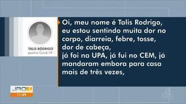 Paciente de Porto Velho fala sobre atendimento da Covid-19 - Secretaria municipal da saúde explica passo a passo do atendimento.