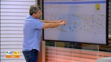Veja como usar o mapa virtual com as localizações dos casos confirmados da Covid-19 em PE - Secretário estadual de Planejamento e Gestão, Alexandre Rebêlo mostra como fazer.