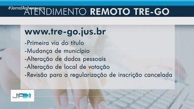 Cidadão pode regularizar a situação perante a Justiça Eleitoral sem sair de casa em Goiás - Também é possível tirar o primeiro título pela internet.