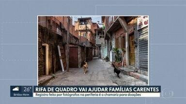 Rifa solidária de quadros ajuda famílias carentes - Trio de fotógrafos da capital está usando a criatividade e o talento com as lentes para ajudar quem mais precisa neste momento.
