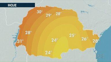 Abril termina com tempo seco em todas as regiões do Paraná - A previsão de chuvas para maio é pequena.