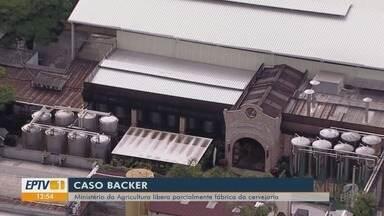 Ministério da Agricultura libera funcionamento de tanques da Backer - Local está fechado desde casos de intoxicação