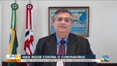 Flávio Dino afirma que vai endurecer medidas de restrição na Grande Ilha - Em entrevista à TV Mirante, o governador do Maranhão afirmou que na próxima semana vai tomar providências mais rígidas para conter o novo coronavírus.