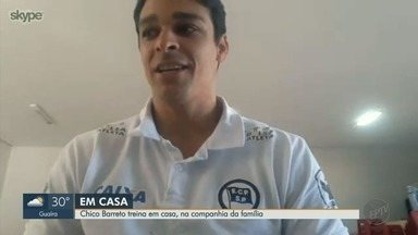 Ginasta de Ribeirão Preto realiza treinos em casa durante a quarentena - Olímpiadas de Tóquio foram canceladas por conta do novo coronavírus.