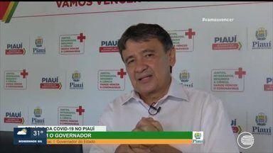 Governador fala sobre situação atual da COVID-19 no Piauí - Governador fala sobre situação atual da COVID-19 no Piauí