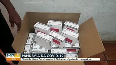 Superintendência Regional de Montes Claros recebe 4.500 testes para detecção da Covid-19 - Material será distribuído para os municípios do Norte de Minas.