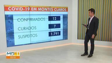 Covid-19: Confira como está a situação em Montes Claros - Segundo dados da Vigilância Epidemiológica, na cidade, doze casos de coronavírus foram confirmados, sete desses pacientes estão curados. Na cidade já foram notificados 1.791 pacientes suspeitos.