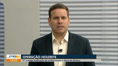 Polícia Federal investiga desvio de dinheiro na Prefeitura de Cruz do Espírito Santo, PB - Operação Holerite também analisa falsificação de contracheques.