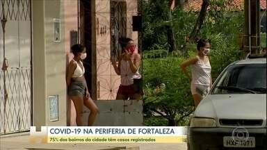 Coronavírus: 75% dos bairros de Fortaleza têm casos registrados - O estado do Ceará tem cerca de 7 mil casos confirmados. É o quarto no país em números de mortes: pouco mais de 400. O epicentro da epidemia por lá é a capital, Fortaleza e o avanço na periferia da cidade preocupa.