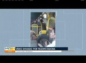 VC no MG: Confira os vídeos enviados pelos telespectadores do MG1 (Parte 1) - Telespectadores reclamaram de ônibus lotado em Governador Valadares e das condições de uma ponte que fica em Penha do Cassiando, distrito de Valadares.