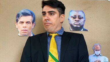 #Quarentena #Dia44 - Dia de quarentena com João, André, Collor e Jair.