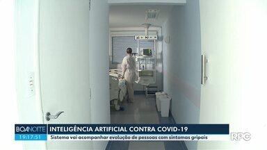 Inteligência artificial vai monitorar pessoas com sintomas gripais em Curitiba - O sistema vai ajudar a prefeitura de Curitiba a acompanhar a evolução de pessoas com sintomas que podem ser de Covid-19.