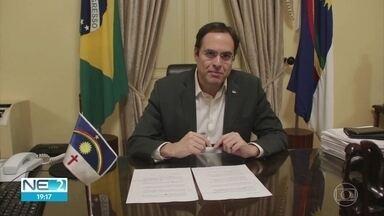 Pernambuco anuncia ajuda para municípios abrirem vagas de UTI nos hospitais - Último lote de 35 respiradores será distribuído para unidades hospitalares.