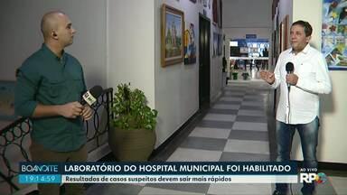 Laboratório do Hospital Municipal é habilitado para fazer exame da COVID-19 - Isso deve acelerar o processo de resultados.
