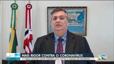 Governador anuncia que vai endurecer medidas de prevenção contra o coronavírus no MA - Anúncio foi feito em coletiva nesta quarta-feira (29).
